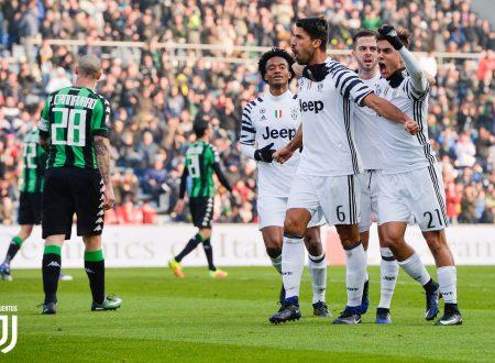 Probabili formazioni Sassuolo Juventus