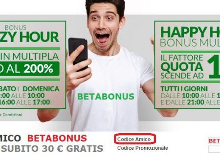 Betaland Bonus e Promozioni