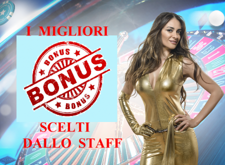 Welcome Bonus Scommesse Casino