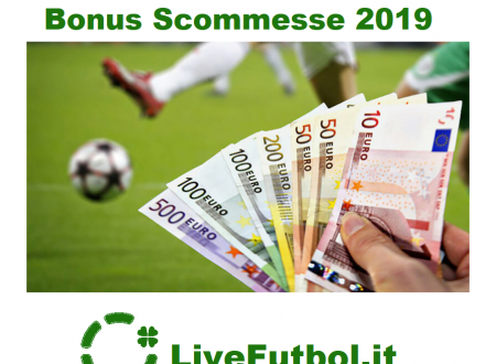 Bonus Scommesse Sportive 2019
